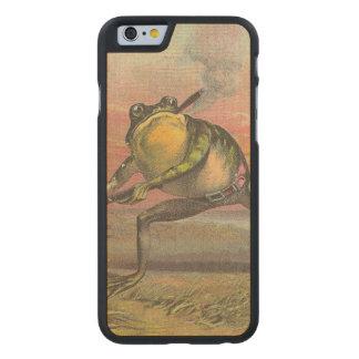 Baseball Frog Carved® Maple iPhone 6 Slim Case