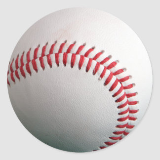 Baseball Fully Customizeable Classic Round Sticker