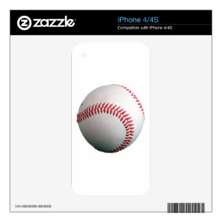 Baseball Fully Customizeable Skin For iPhone 4