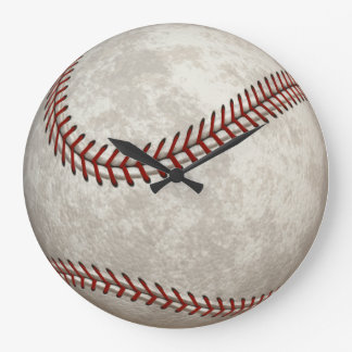 Baseball  Game  American Past-time Sports Clock