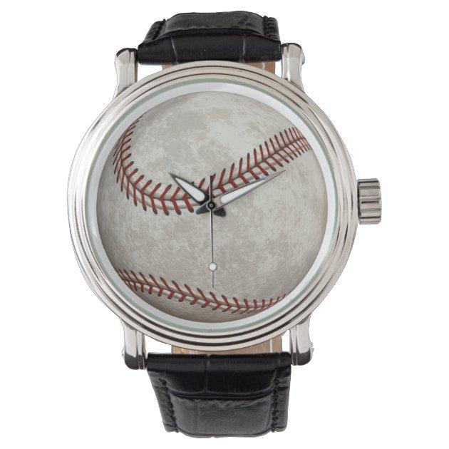 baseball american past time sports wrist watches zazzle