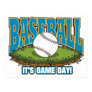 Baseball Game Day Post Cards