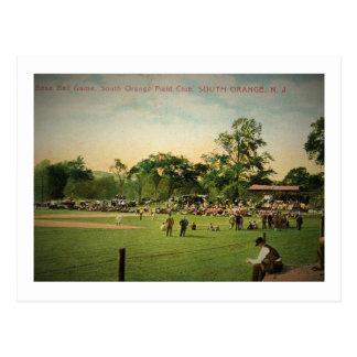 Baseball Game, South Orange, New Jersey Vintage Postcard