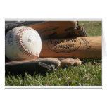 Baseball Gear Greeting Card