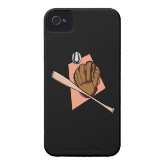 Baseball Gear iPhone 4 Cover