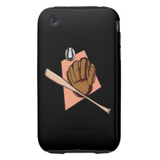 Baseball Gear Tough iPhone 3 Covers