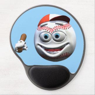 Baseball Gel Mouse Mat