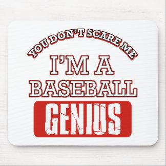 Baseball genius mouse pad