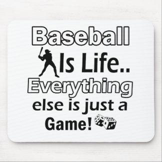 Baseball gift items mouse pad