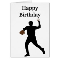 Baseball gifts card