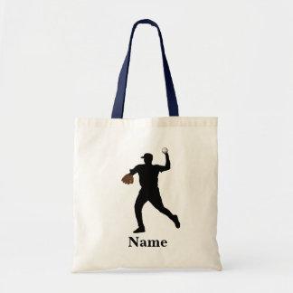 Baseball gifts tote bag