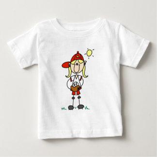 Baseball Girl With Glove Tshirts and Gifts