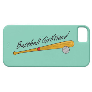 Baseball Girlfriend - iPhone 5 Case