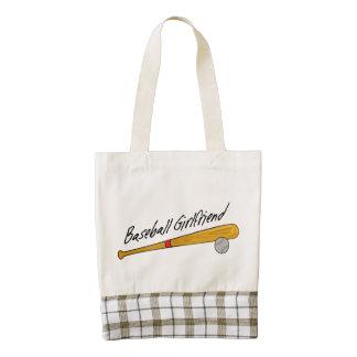 Baseball Girlfriend Tote Bag