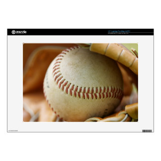 Baseball Glove and Ball Decal For Laptop