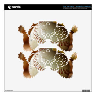 Baseball Glove and Ball Decal For PS3 Controller