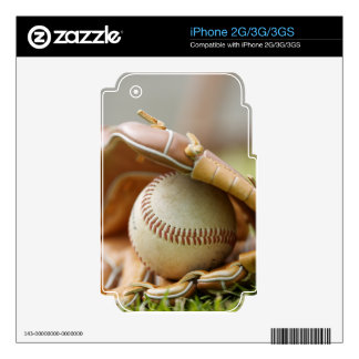 Baseball Glove and Ball Decals For The iPhone 3G