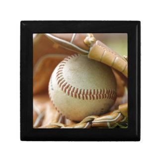 Baseball Glove and Ball Gift Box