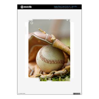 Baseball Glove and Ball iPad 3 Skin