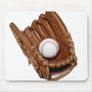 Baseball Glove and Ball Mouse Pad