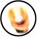 Baseball Glove And Ball Photo Cut Outs