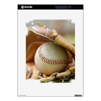 Baseball Glove and Ball Skins For iPad 2
