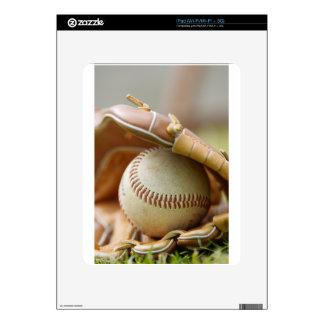 Baseball Glove and Ball Skins For The iPad