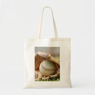 Baseball Glove and Ball Tote Bag