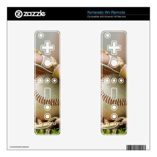 Baseball Glove and Ball Wii Remote Skin