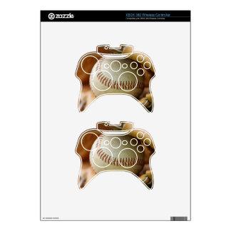 Baseball Glove and Ball Xbox 360 Controller Decal