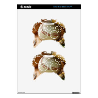 Baseball Glove and Ball Xbox 360 Controller Skins