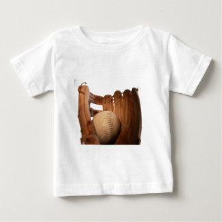 Baseball Glove & Ball Baby T-Shirt