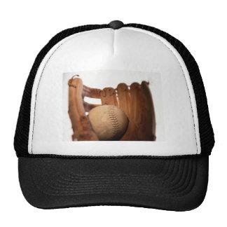 Baseball Glove & Ball Trucker Hat