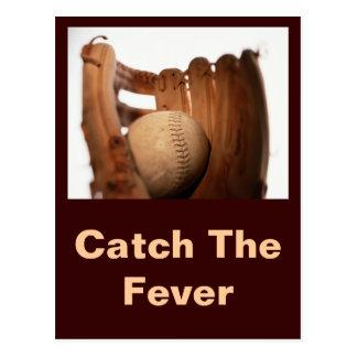 Baseball Glove & Ball Postcard