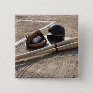 Baseball Glove Button