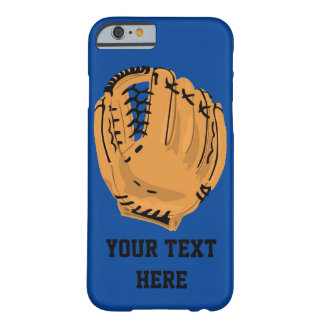 Baseball Glove Customizable Barely There iPhone 6 Case