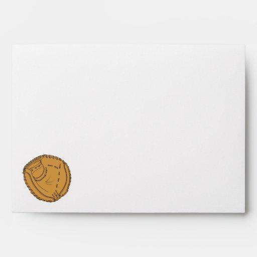 Baseball Glove Envelopes
