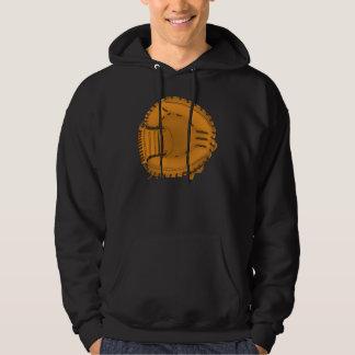 baseball glove hoodie