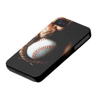 Baseball Glove iPhone 4 Case-Mate Carcasas