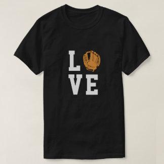 Baseball Glove Love Customizable Shirt