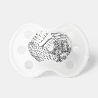 baseball glove pacifier