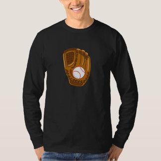 baseball glove t shirt