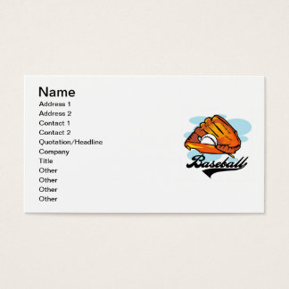 Baseball Glove T-shirts and Gifts Business Card