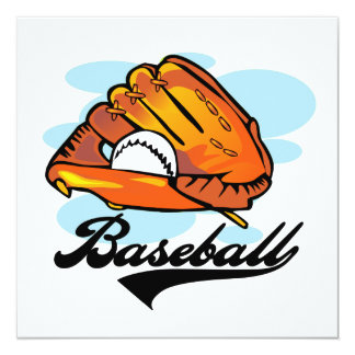 Baseball Glove T-shirts and Gifts Card
