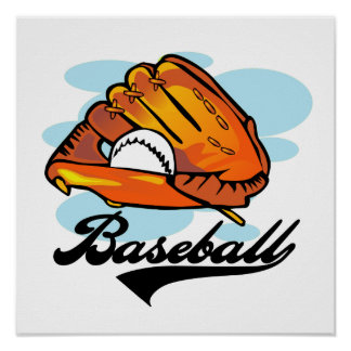 Baseball Glove T-shirts and Gifts Posters