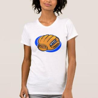 baseball glove tee shirt