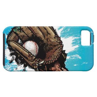 Baseball glove with base ball iPhone SE/5/5s case