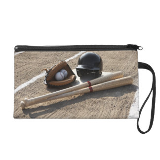 Baseball Glove Wristlet Purse