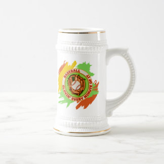 Baseball Glovin' Every Minute Of It Beer Stein