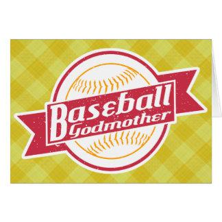 Baseball Godmother Greeting Card